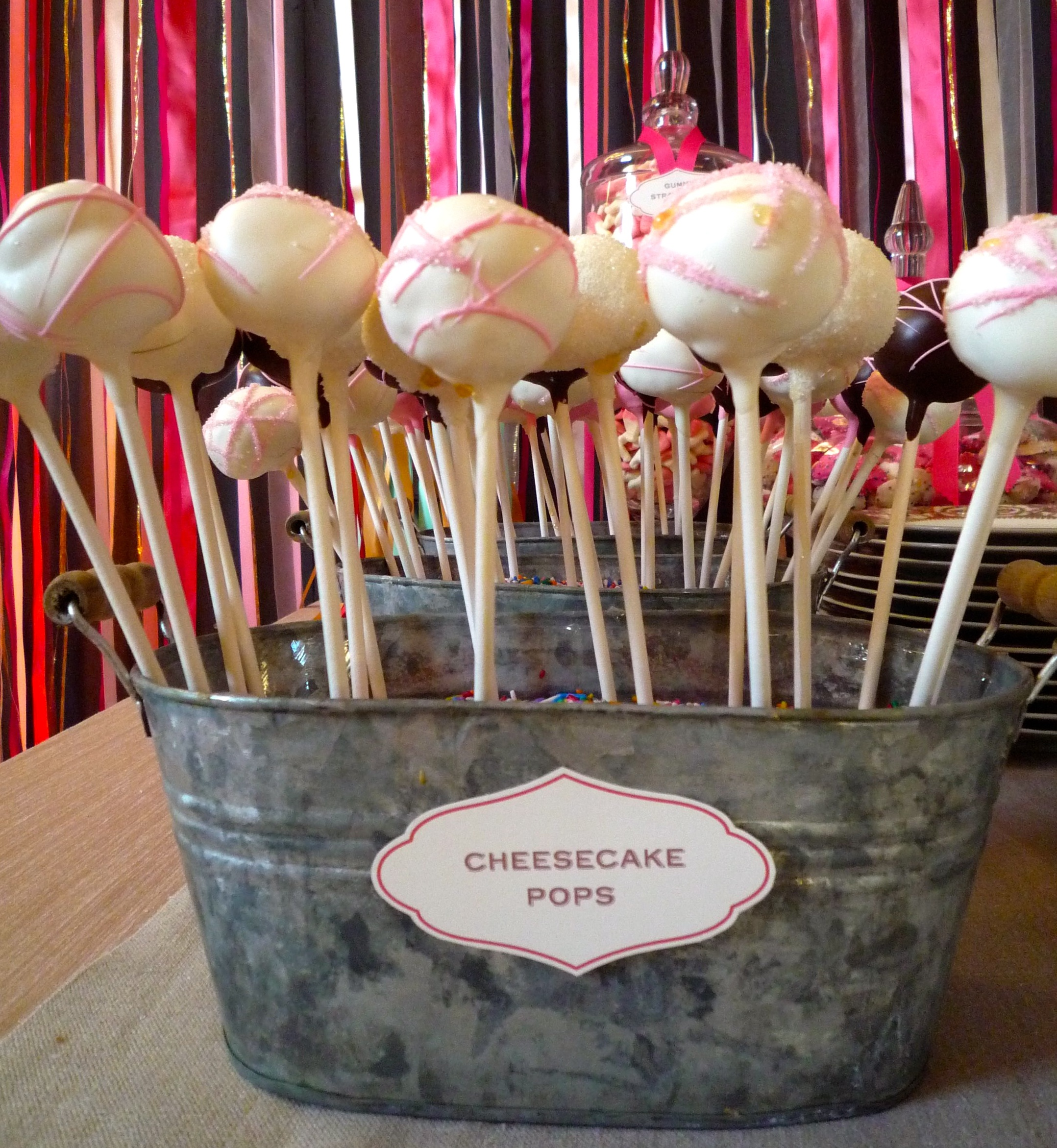 ... , Part 5: Cheesecake Pops by Sweet Lauren Cakes » Cheesecake Pops
